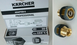 Adapter 6 gwint: EASY!LOCK karcher / gwint: M22x1,5 karcher